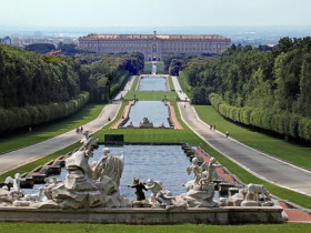 The Royal Palace of Caserta and the village of San Leucio