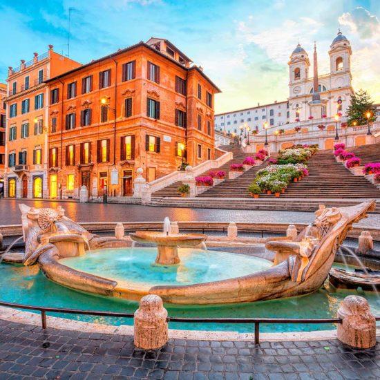 Barcacci a Piazza di Spagna, Roma, itinerario Ad Personam